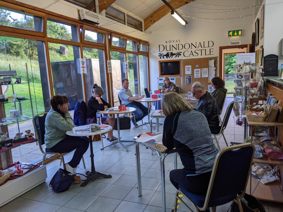 Write Here at Dundonald Castle: Write at the Beginning